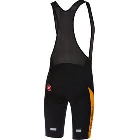 Castelli Velocissimo IV Bib Shorts Heren oranje/zwart